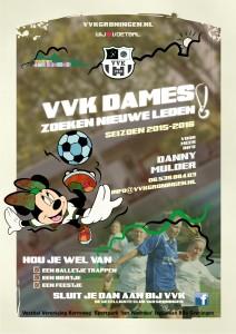 VVK promo nieuwe leden dames juli 2015