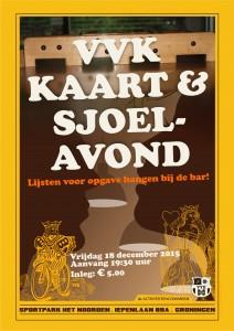 VVKaart & sjoelavond